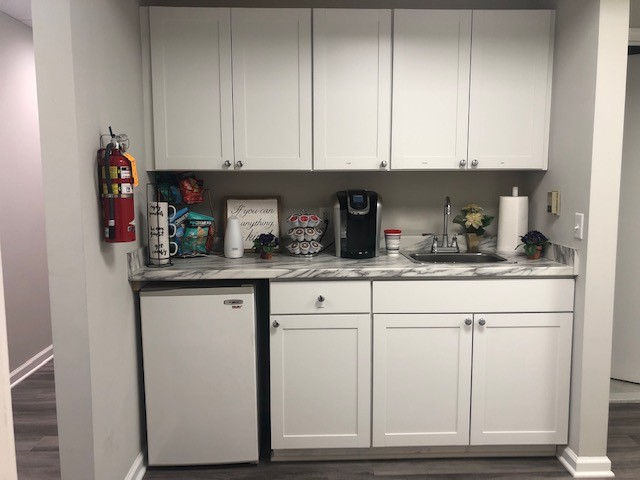 Client Coffee and Snack Area