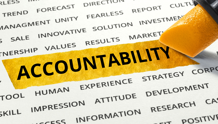 Staying Accountable to You